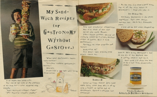 Hellman's 'GasStove', Dave Wakefield', BMP-01
