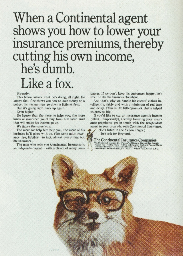 The Continental Insurance Co. 'Dog', Sid Myers, DDB NY-01