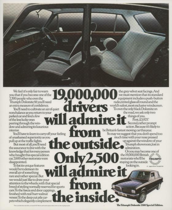 Triumph - '19,000,000', Dave Wakefield, Saatchi-01