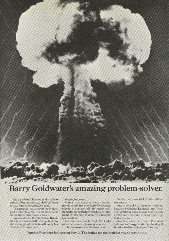 Vote Johnson 'Problem-solver', Sid Myers, DDB NY-01