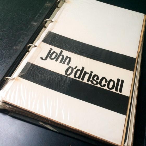 John O'Driscoll Book