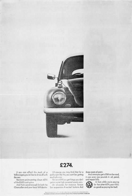 Volkswagen 'Half', John O'Driscoll, DDB