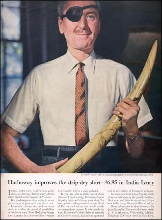 Hathaway 'Ivory', Ogilvy & Mather