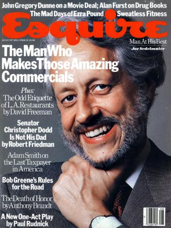 Joe Sedelmaier, Esquire Cover, 1983