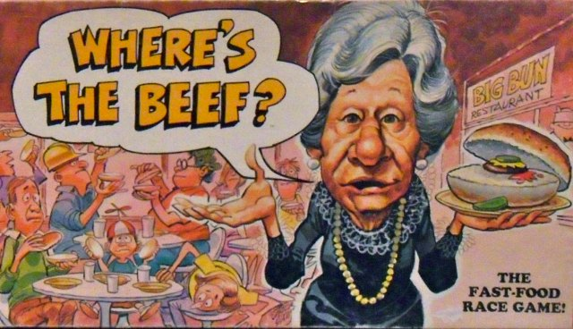 Joe Sedelmaier 'Where's The Beef'  14