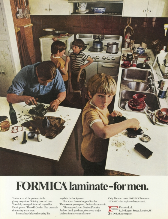 Formica 'For Men', David Holmes, KMP-01
