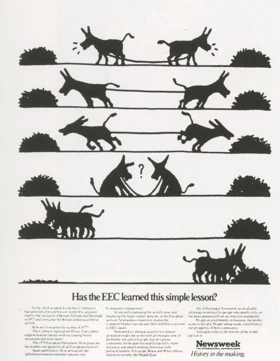 'Has The EEC' Newsweek, John Hegarty, TBWA-01.jpg