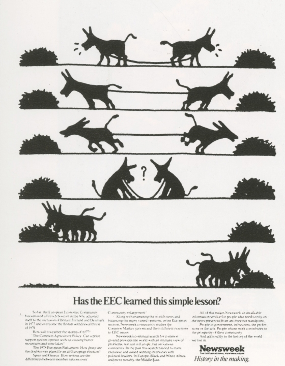 'Has The EEC' Newsweek, John Hegarty, TBWA-01.jpg
