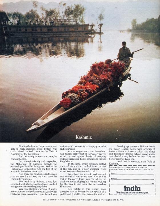 'Kashmir' India, KMP, John Claridge*