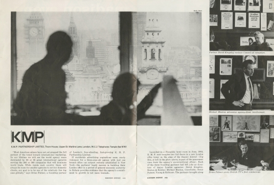 Madison Avenue Magazine 'KMP', July 1967-01